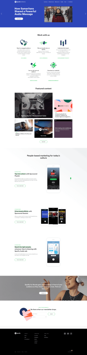 Join Us: Insights by Spotify for Brands from UIGarage