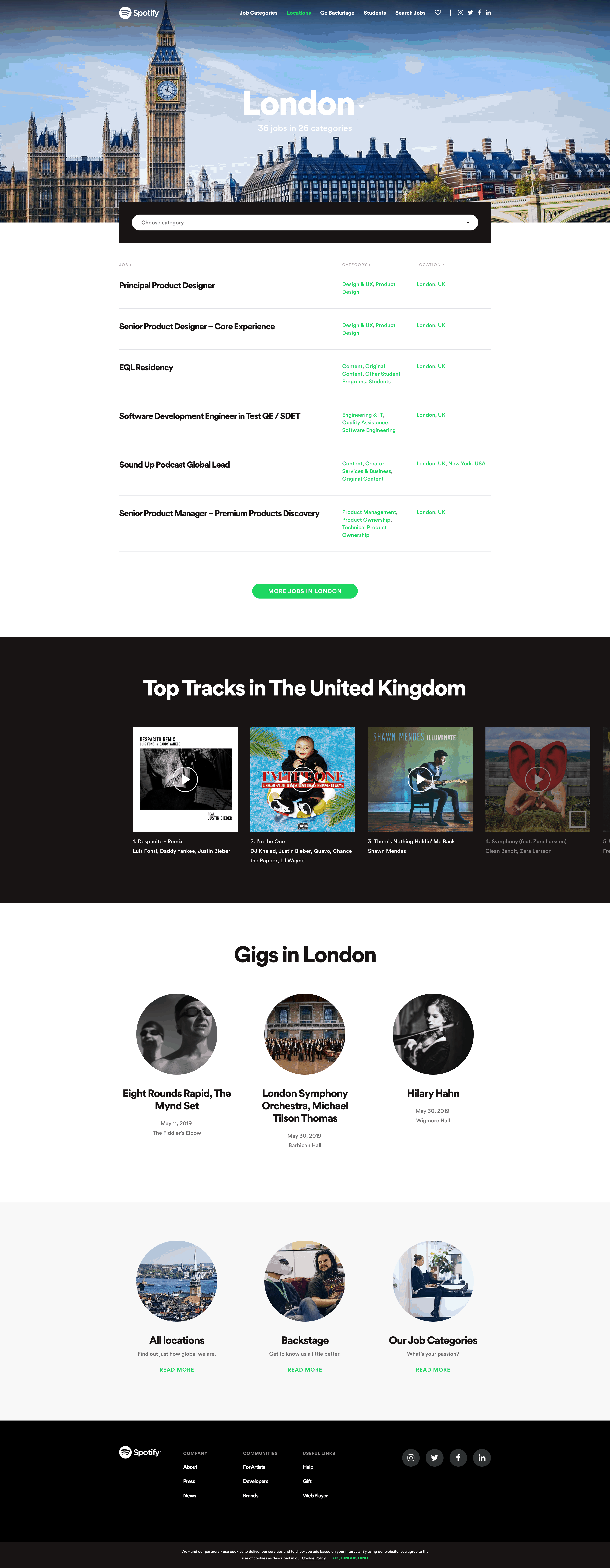 Join Us: London by Spotify