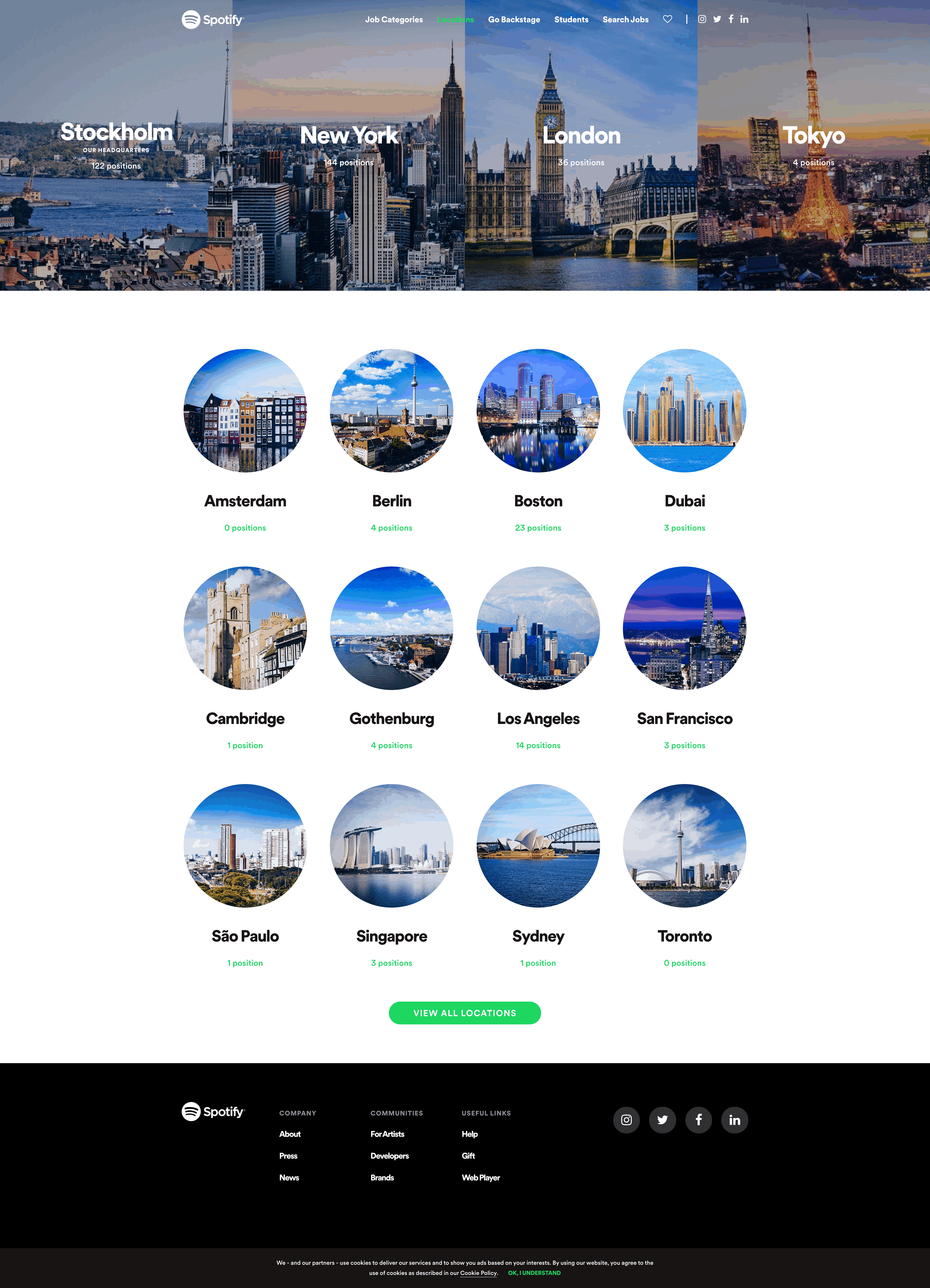 Join Us: Locations by Spotify