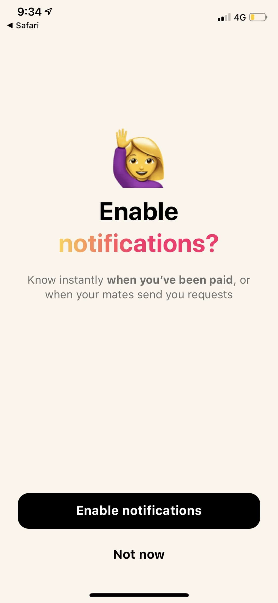 Enable Notifications on iOS by Beem