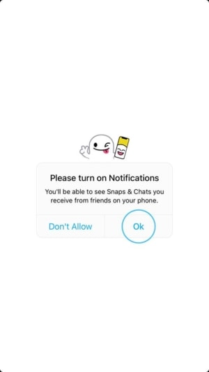 Ask Permission on iOS by Snapchat 2019 from UIGarage