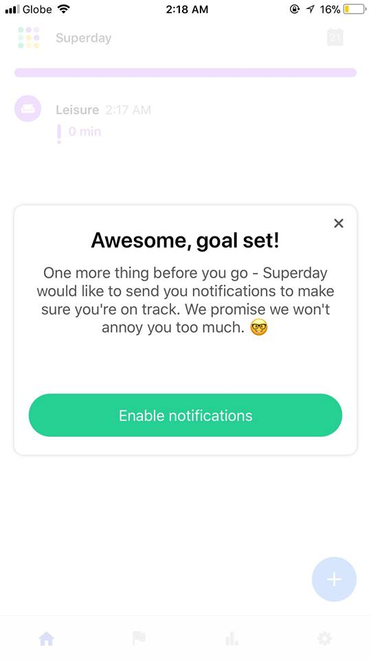 Ask Permission on iOS by Superday