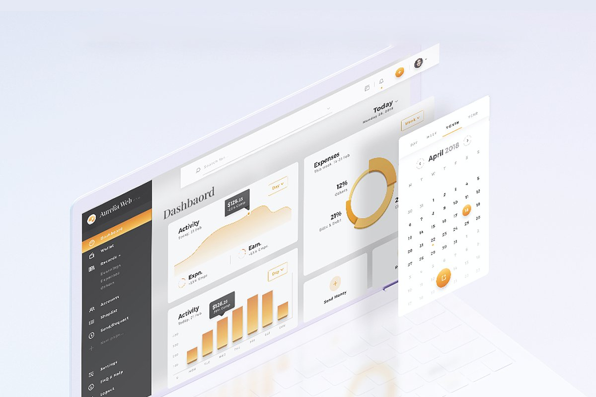 Top 10 Dashboard UI Kits for 2019 from UIGarage