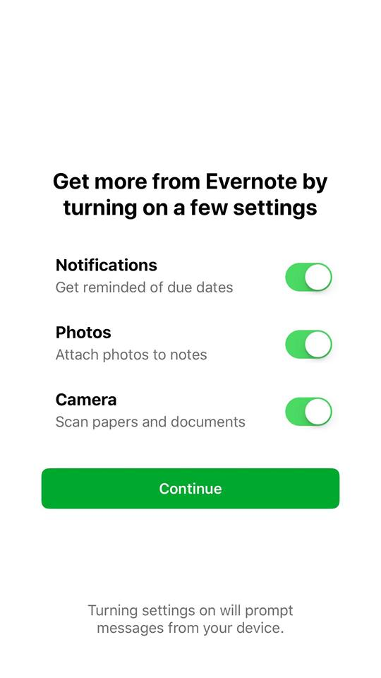 Checkbox on iOS by Evernote