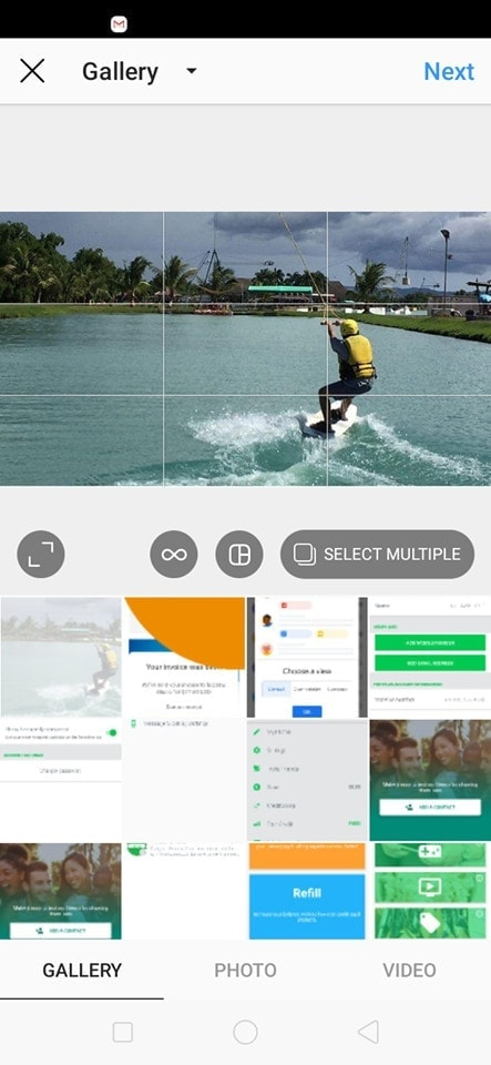 Gallery on Android by Instagram