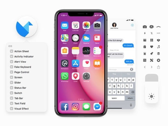 Free iOS Kit of 2019 from UIGarage