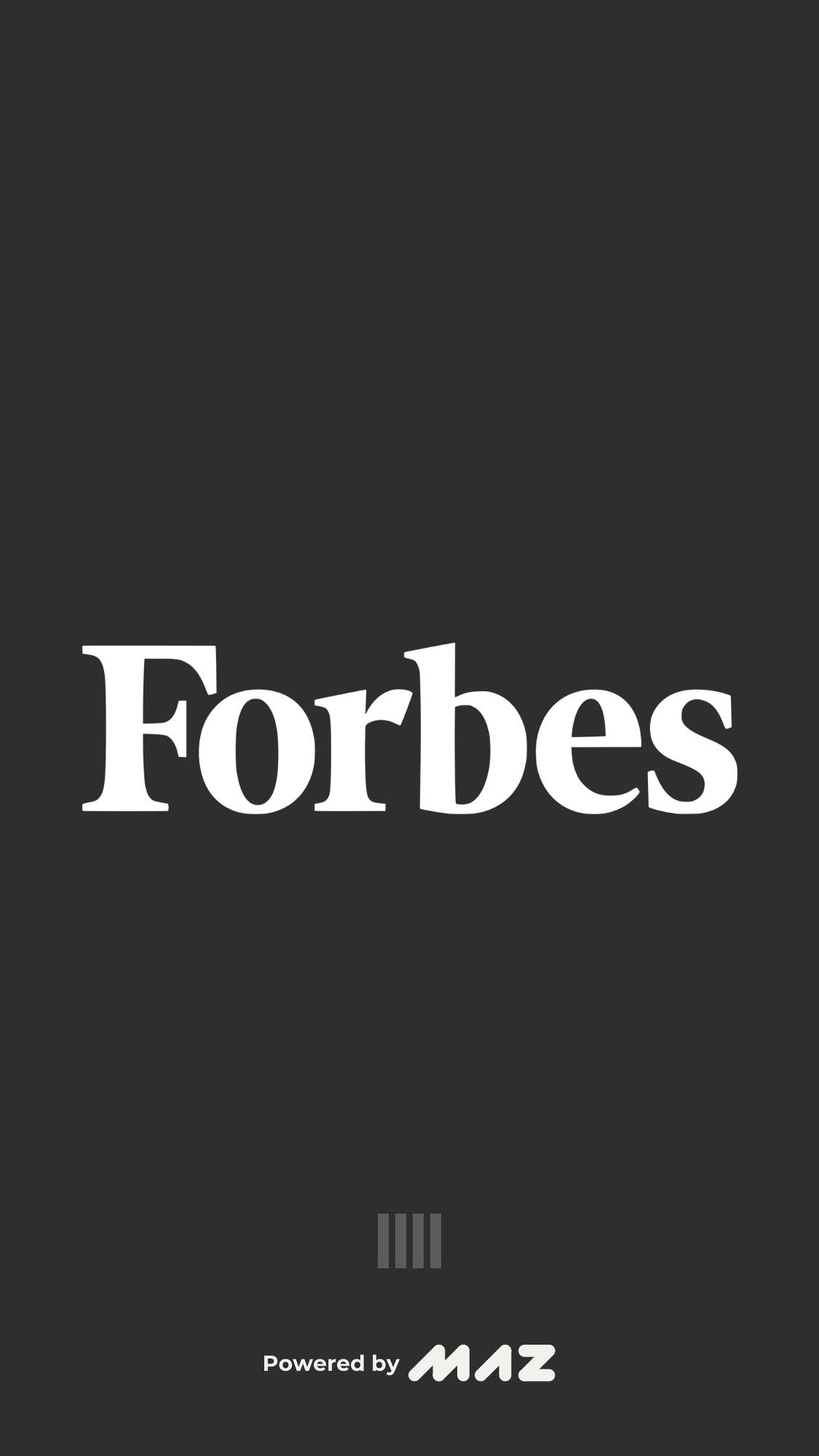Loading on iOS by Forbes from UIGarage