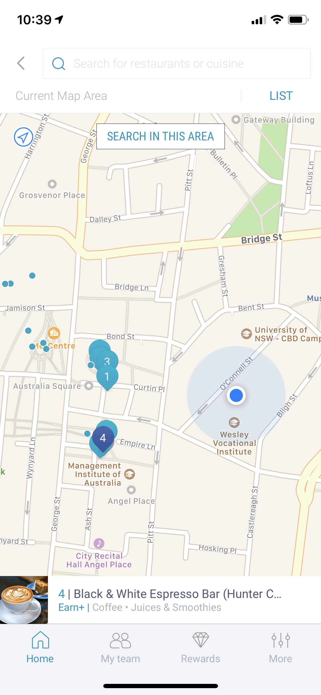 Maps on iOS by Ritual