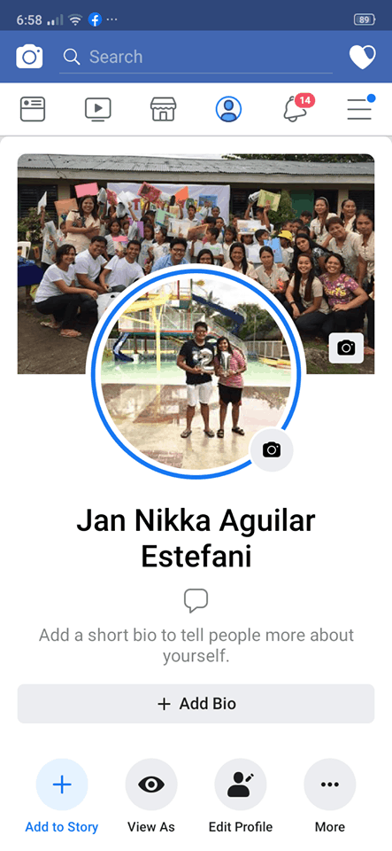 Profile on Android by Facebook