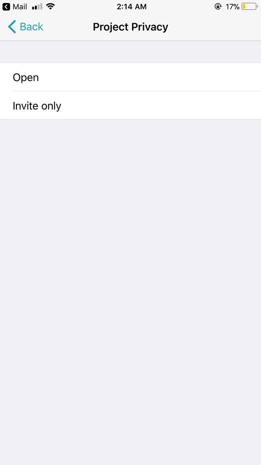 Project Privacy on iOS by  Superday