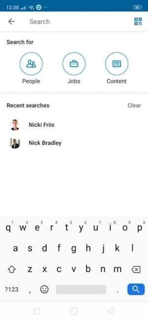 Search on Android by Linked In from UIGarage