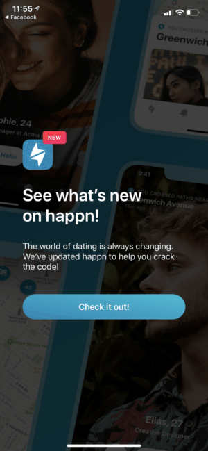 Walkthrough Process on iOS by Happn from UIGarage