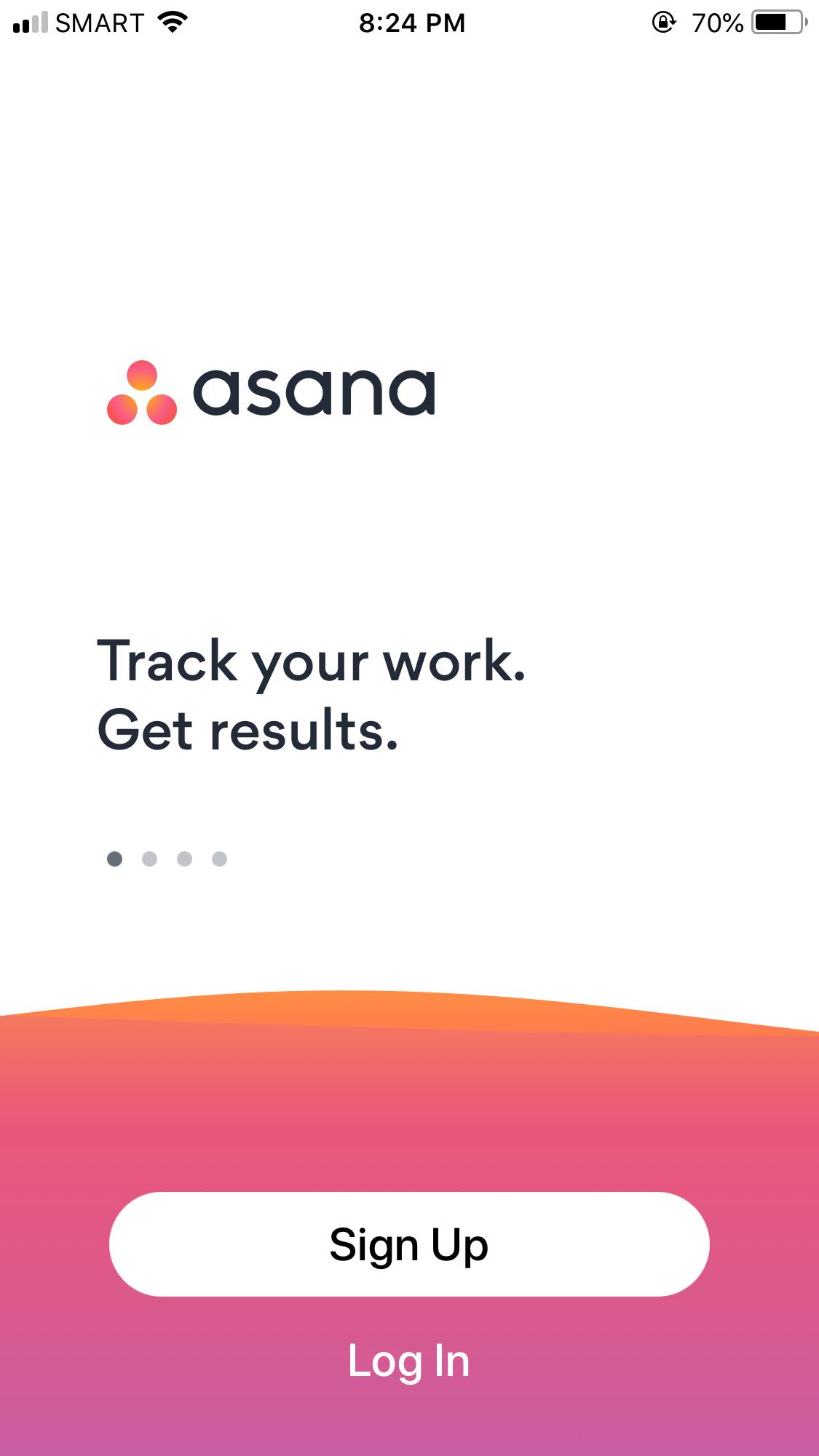 Walkthrough on iOS by Asana