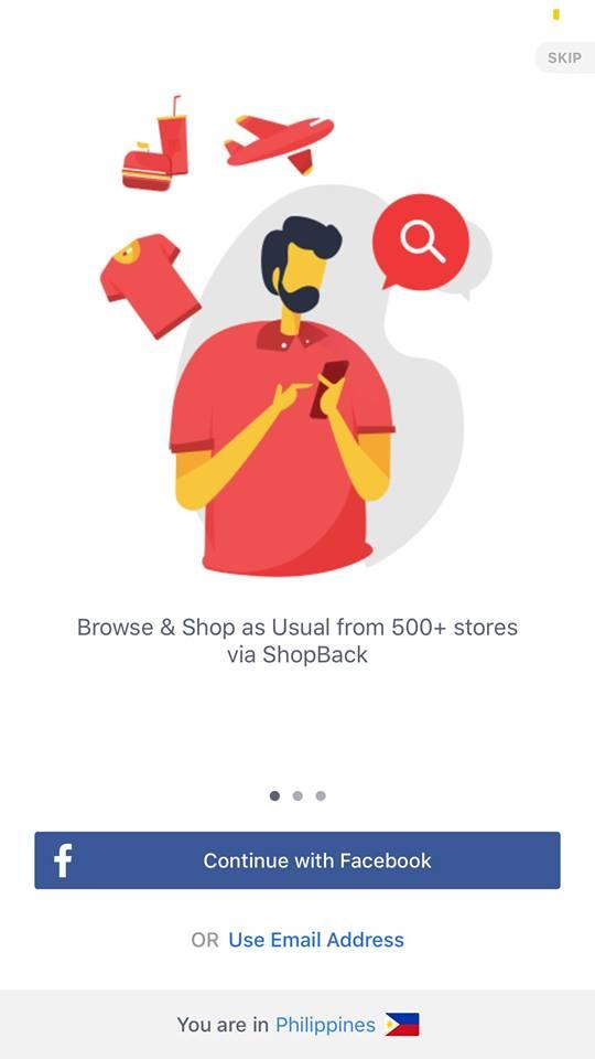 Walkthrough on iOS by Shopback