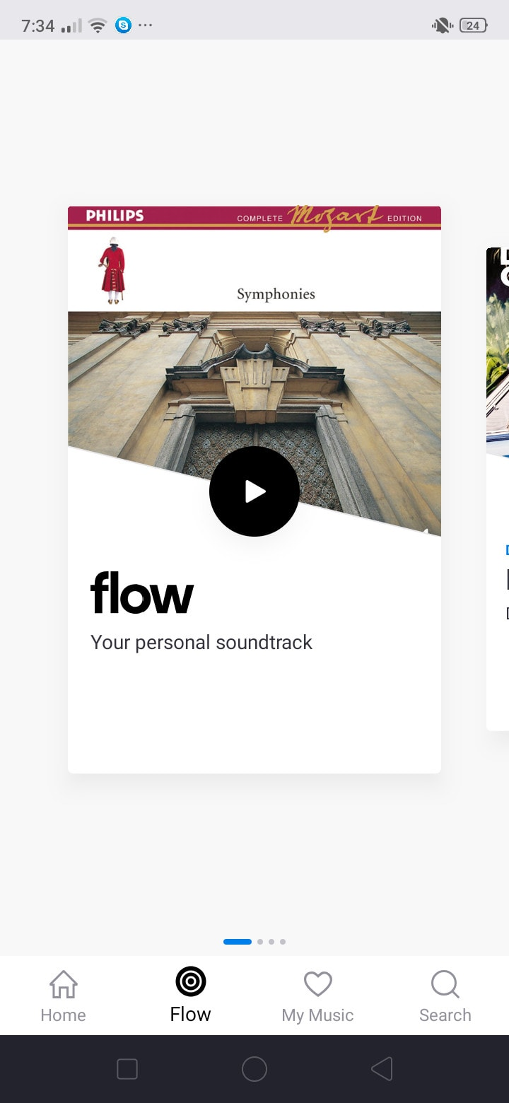 Flow Walkthrough on Android by Deezer from UIGarage