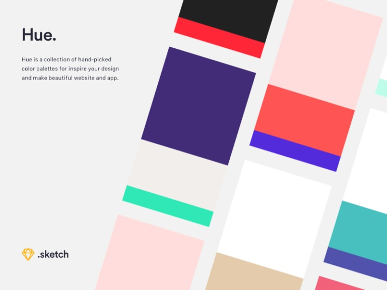 Hue - Free Website and App Color Palettes from UIGarage