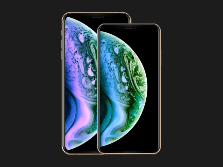 iPhone XS/Max Mockup from UIGarage
