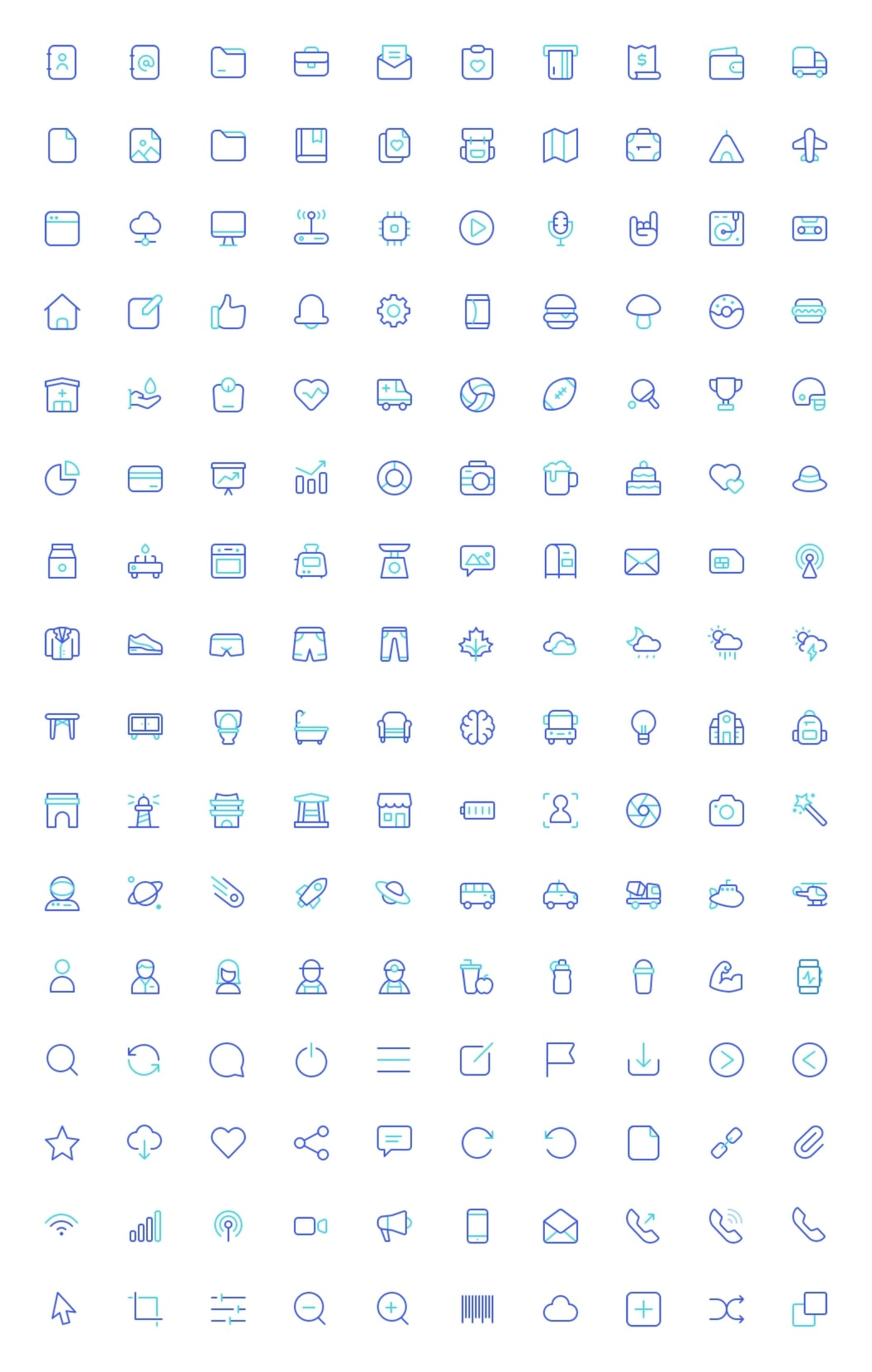 Senja Icons from UIGarage